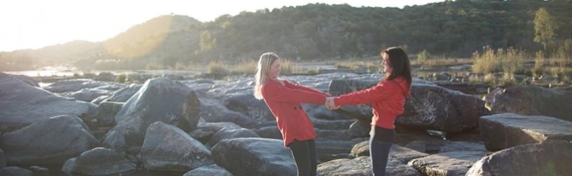 Sam & Angela- Sisters shoot
